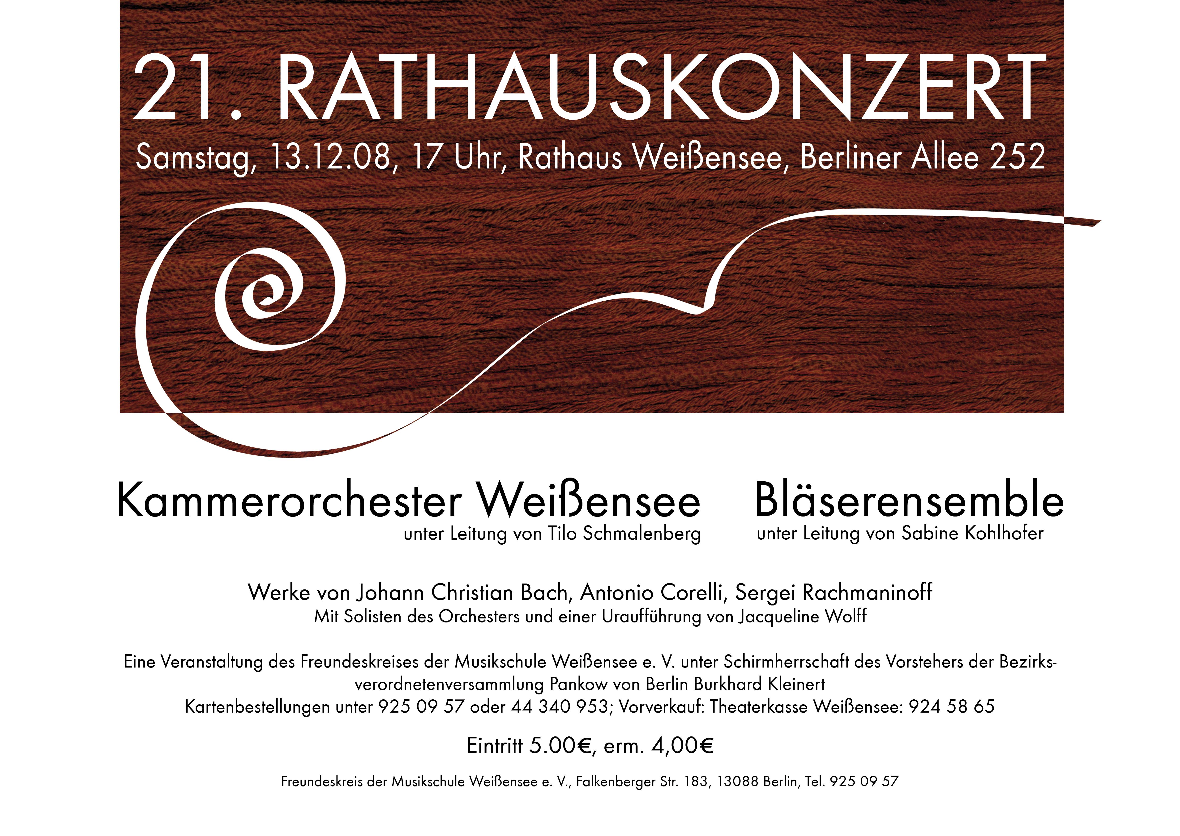 21. Rathauskonzert