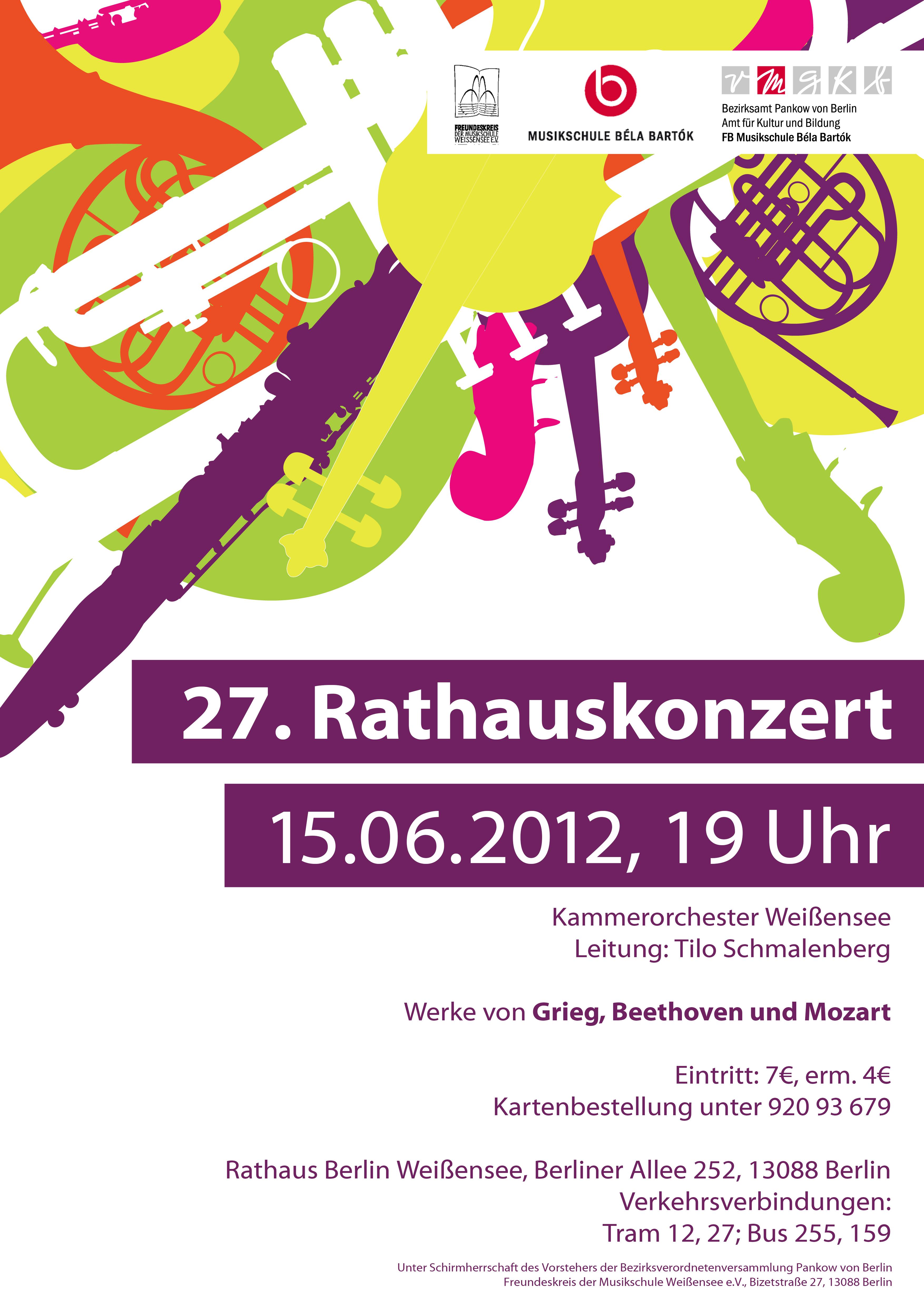 27. Rathauskonzert