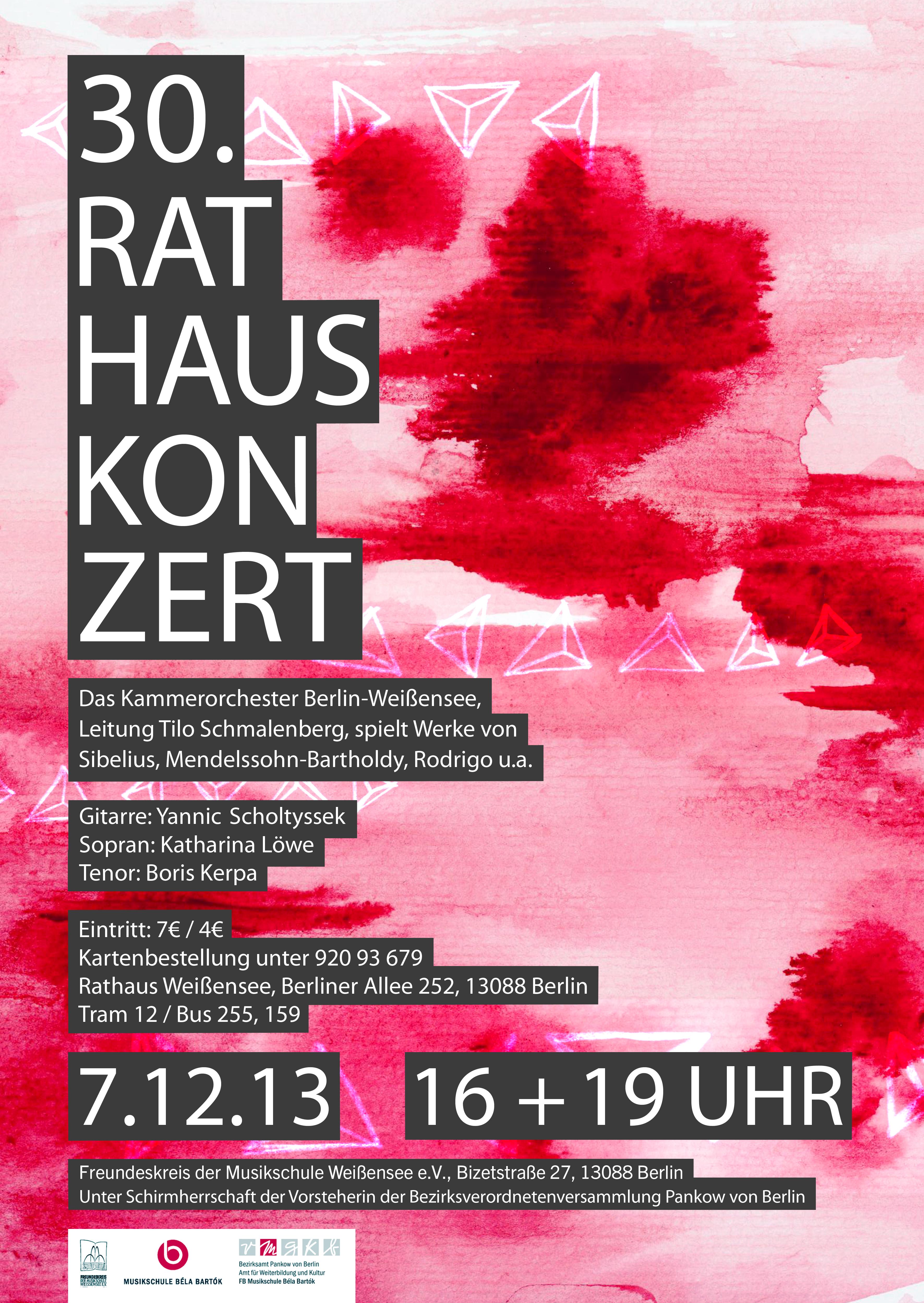 30. Rathauskonzert