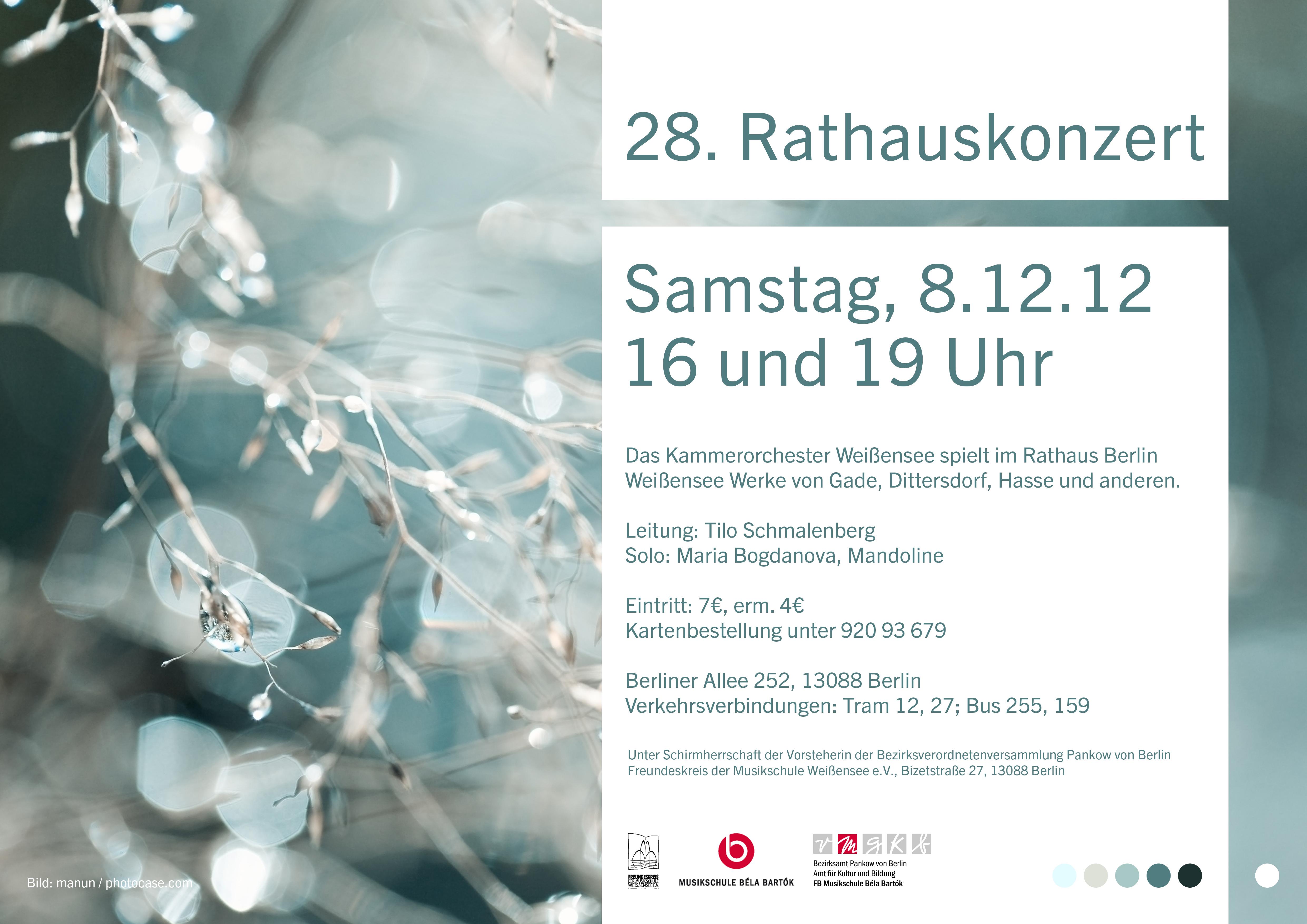 28. Rathauskonzert