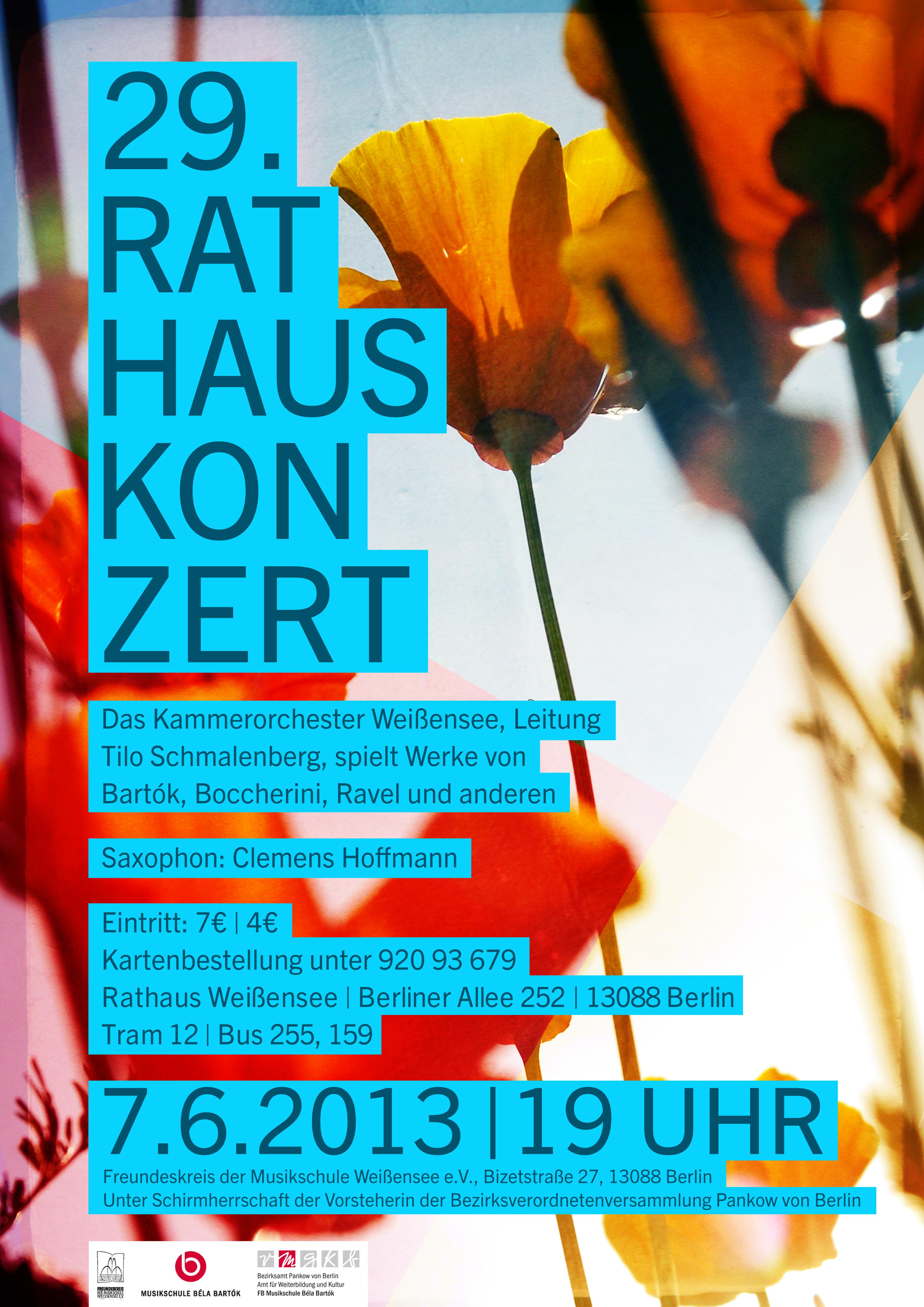 29. Rathauskonzert