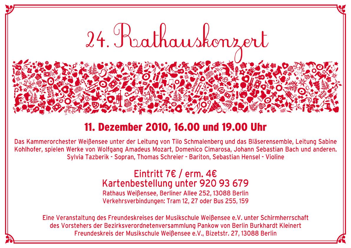 24. Rathauskonzert