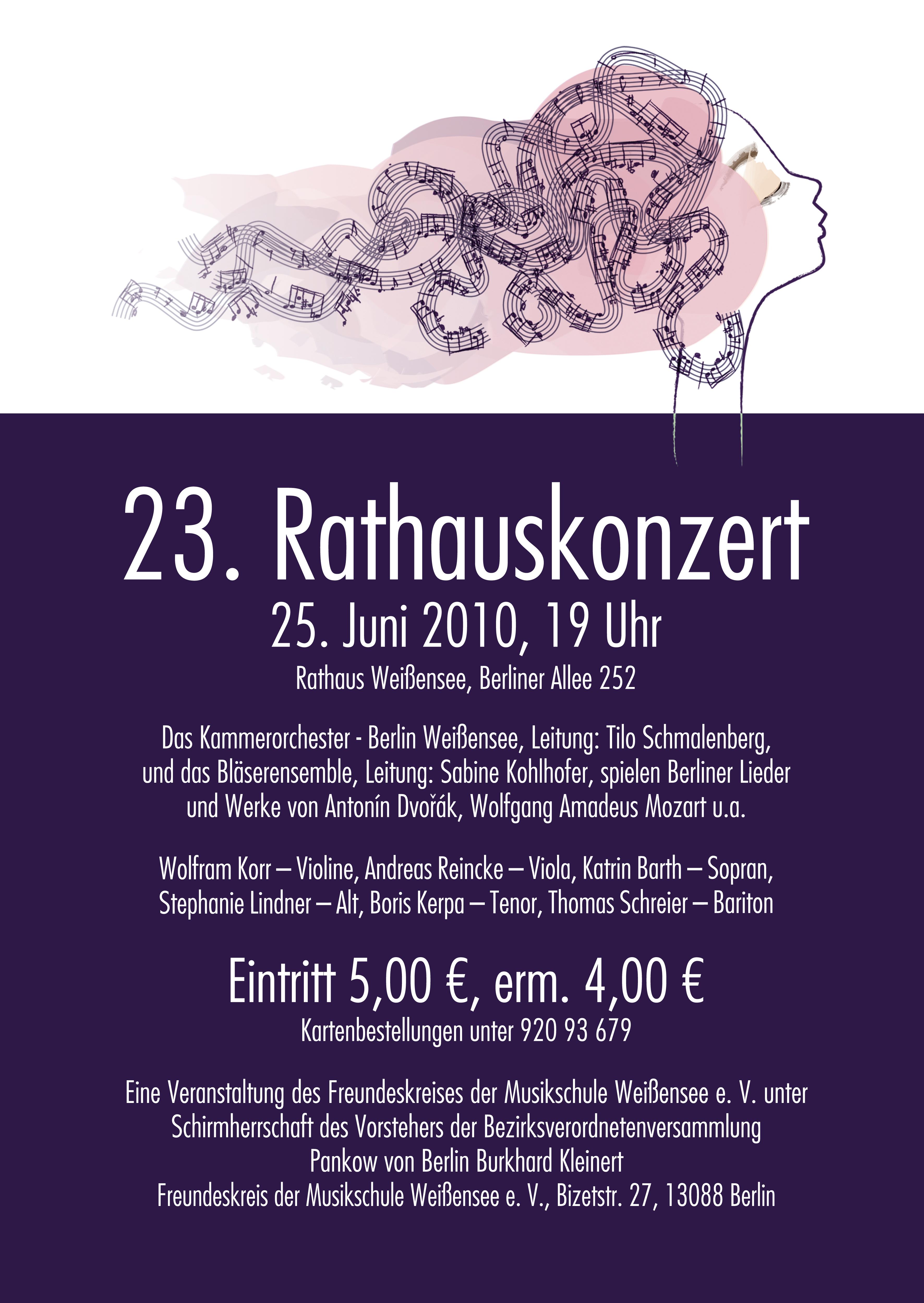 23. Rathauskonzert